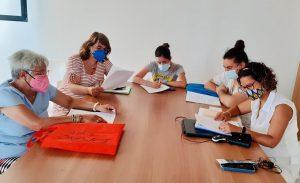 Un grup d'alumnes del curs d'al·lèrgens
